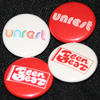 UNREST, TEEN-BEAT 26th Anniversary, badges