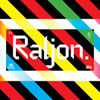 Raljon typeface font by Mark Robinson of Teenbeat Graphica